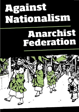 AFED against nationalism pamphlet front cover
