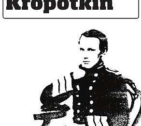 Kropotkin and the history of anarchism, pamphlet front cover