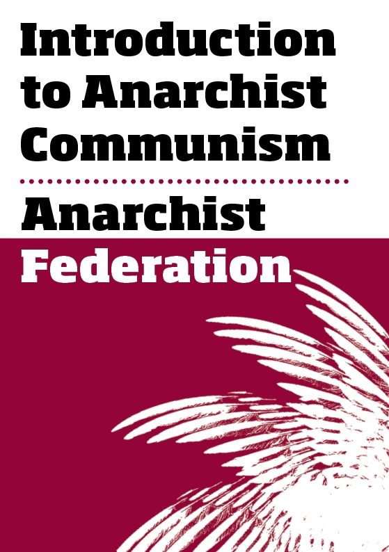 AFED intro to anarcho-communism front cover