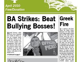 cover of Resistance Bulletin 121 April 2009