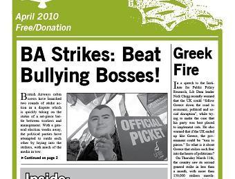 cover of Resistance Bulletin 121 April 2009