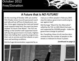 cover of Resistance Bulletin 145 Oct 2012