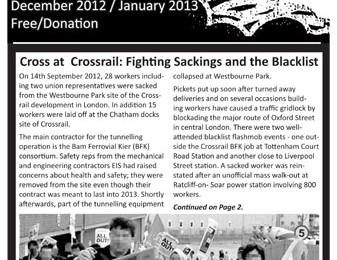 cover of Resistance Bulletin 147 Dec 2012-Jan 2013