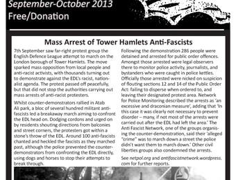 cover of Resistance Bulletin 154 September/October 2013
