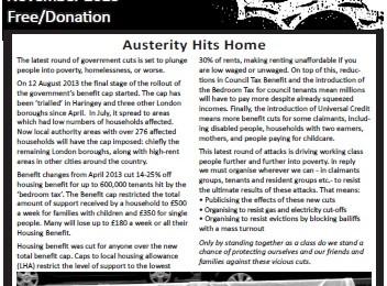 cover of Resistance Bulletin 155 November 2013