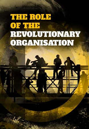 The role of the revolutionary organisation front cover
