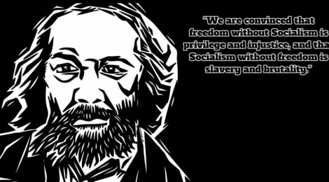 Public talks on Bakunin to mark his bi-centenary