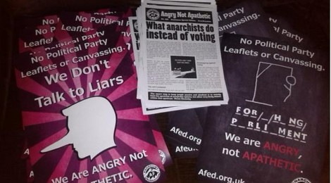 Angry Not Apathetic - AF's anti-election campaign is launched