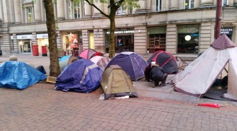 Solidarity and the Manchester Homeless Camp
