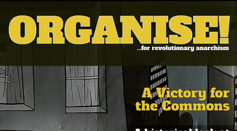 Organise 86 magazine of the Anarchist Federation - Summer 2016