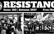 Resistance 162 cover - paper of the Anarchist Federation (UK)