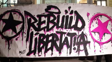 Rebuild Libertatia - Thessaloniki Greece - Grafitti