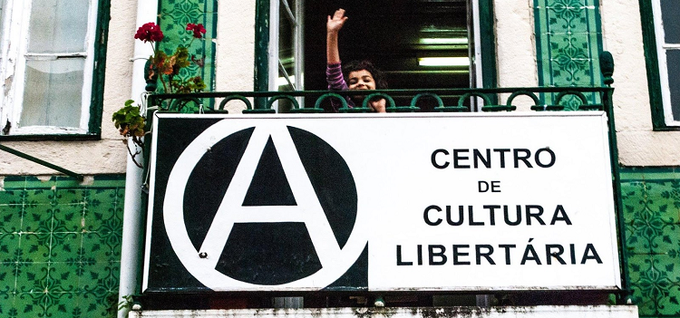 Centre of Libertarian Culture in Cacilhas-Almada, Portugal