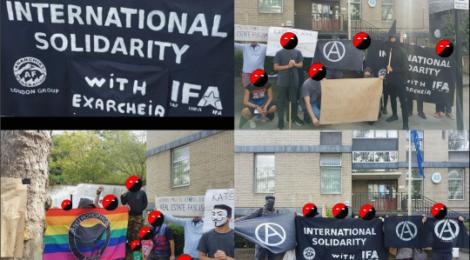 Solidarity Demo for Exarcheia