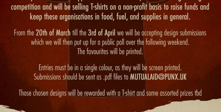 Mutual Aid vs Covid-19 T Shirt Fundraiser