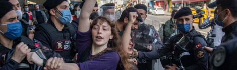 DAF Anarchists on May Day2021 demonstrations in Turkey